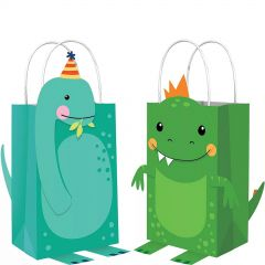 Dino-Mite Paper Treat Bags (Pack of 8)