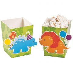 Little Dino Mini Treat Boxes (Pack of 12)