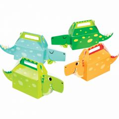 Dino Party Boy Lolly / Treat Boxes (Pack of 4)