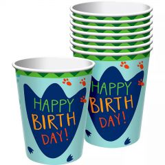Dino-Mite Paper Cups (Pack of 8)