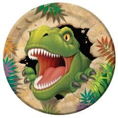 Dino Blast Large Paper Plates (Pack of 8)