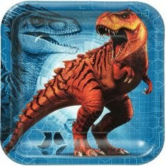 Jurassic World Large Paper Plates (Pack of 8)