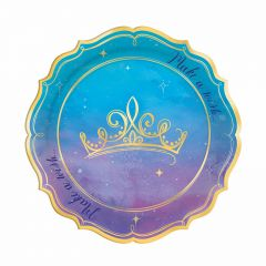 Disney Princess Small Paper Plates (Pack of 8)