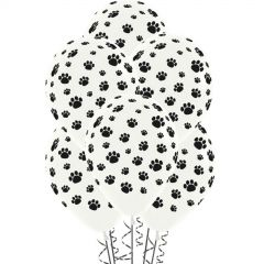 Paw Print Balloons (Pack of 12)