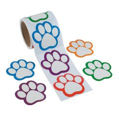 Dog Stickers (Roll of 100)