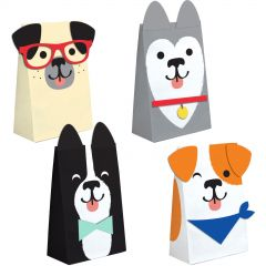 Doggy Cellophane Treat Bags (Pack of 12)