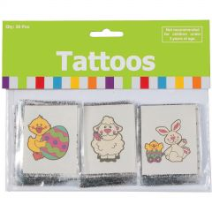 Easter Tattoos (Pack of 36)