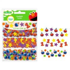 Elmo Turns One Confetti/Table Scatters