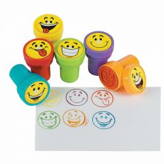 Smiley Face Stamps (Pack of 6)