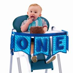Boys 1st Deluxe High Chair Decoration