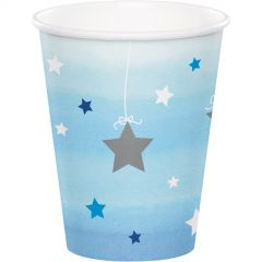 One Little Star Boy Paper Cups (Pack of 8)