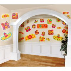Fiesta Cutout Decorations (Pack of 30)