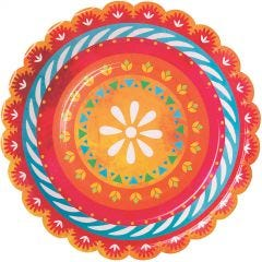 Let's Fiesta Large Paper Plates (Pack of 8)