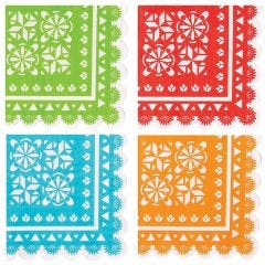 Let's Fiesta Small Napkins / Serviettes (Pack of 16)