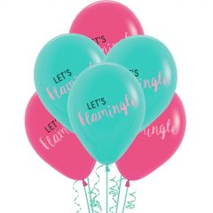 Let's Flamingle Balloons (Pack of 6)