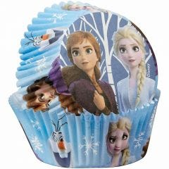 Frozen Baking Cups Patty Pans (Pack of 50)