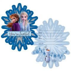 Frozen Party Invitation Set (Pack of 8)