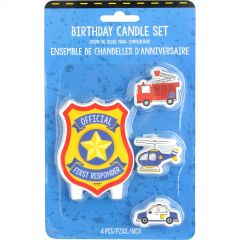 First Responders Candles (Set of 4)