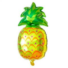 Tropical Pineapple Shaped Helium Foil Balloon