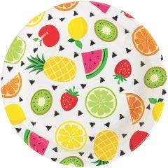 Tutti Frutti Large Paper Plates (Pack of 8)