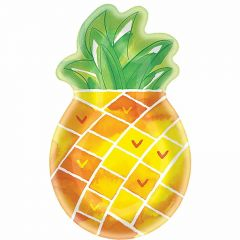 Pineapple Shaped Plates (Pack of 8)