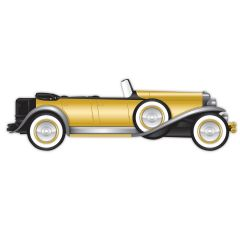 Great 20's Roadster Cutout Decoration