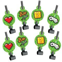 Super Mario Bros. Party Blowers (Pack of 8)
