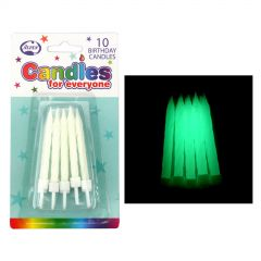 Glow in the Dark Candles (Pack of 10)