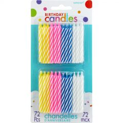 Jumbo Bright Candles (Pack of 12)