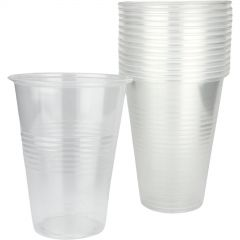 500ml Clear Plastic Cups (Pack of 15)