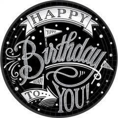Hooray, It's Your Birthday Large Paper Plates (Pack of 18)