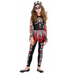 Scared to the Bone Childs Costume 26cm x 57cm