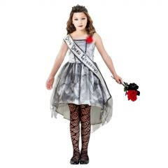 Gothic Beauty Queen Childs Costume 20cm x 45cm