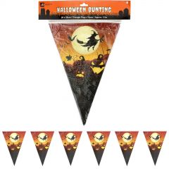 Flying Witch Paper Flag Banner 2.5m