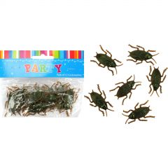 Plastic Cockroaches 5cm (Pack of 12)