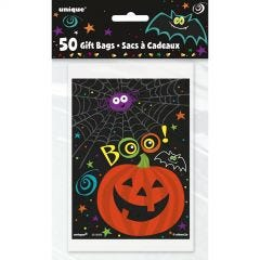 Spider Web Cello Treat Bags (Pack of 20)