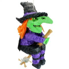 Witch on Broomstick 3D Pinata