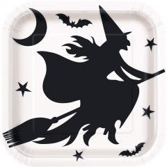 Halloween Black Cauldron Favour Containers (Pack of 12)