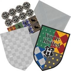 Harry Potter Party Invitations (Pack of 8)