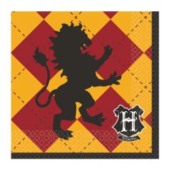 Harry Potter Small Napkins / Serviettes (Pack of 16)