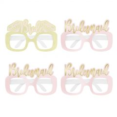 Glitter Bride's Bitches Tiaras (Pack of 4)