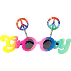 Groovy Party Glasses