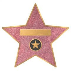 Hollywood Star Large Premium Paper Plates (Pack of 8)