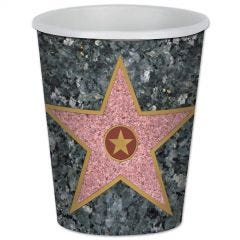 Hollywood Star Small Paper Plates (Pack of 8)