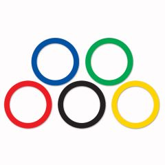 Sports Party Ring Cutouts (Pack of 15)