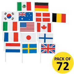 Flags of the World Banner 4M