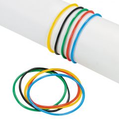 International Games Ring Colours Jelly Bracelets (Pack of 144)