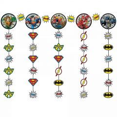 Justice League Heroes Unite String Hanging Garland