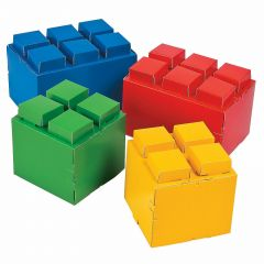 Brick Party Centrepieces (Pack of 4)