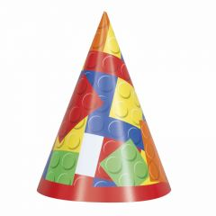 Block Party Hats (Pack of 8)